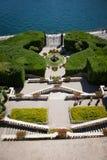 Вилла Carlotta, озеро Como, Италия Стоковые Фотографии RF