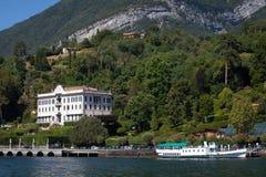 Вилла Carlotta, озеро Como, Италия Стоковое Изображение RF