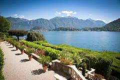 Вилла Carlotta, озеро Como, Италия Стоковые Изображения