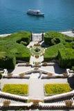 Вилла Carlotta, озеро Como, Италия Стоковая Фотография