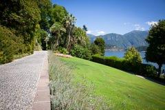 Вилла Carlotta, озеро Como, Италия Стоковые Фото