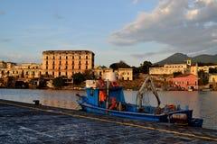 Вилла D'Elboeuf в городе Portici Стоковое Изображение