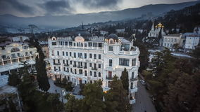 Вилла Elena известная и роскошная гостиница сток-видео