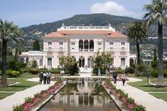 Вилла Ephrussi de Rothschild, французская ривьера Стоковое фото RF
