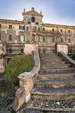 Вилла Pignatti-Morano трёхэтажная вилла семнадцатого века Стоковое Фото