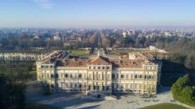 Вилла Reale, Монца, Италия Стоковое фото RF