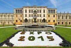 вилла veneto sul piazzola дворца Италии padova 16th 17th contarini столетия brenta историческая Стоковая Фотография