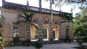 Вилла Vizcaya, Майами стоковые фотографии rf