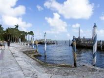 Вилла Vizcaya, Майами Стоковое Фото