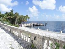 Вилла Vizcaya, Майами Стоковое фото RF
