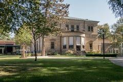 Вилла Wahnfried Байройт 2016 - музей Ричюарда Вагнера Стоковые Фото