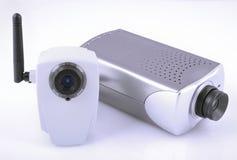 Видеокамеры IP Стоковое Изображение RF