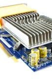 Видеокарта с железным heatsink Стоковая Фотография RF