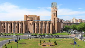видеоклип промежутка времени, Армения Ереван сток-видео