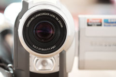 видео вектора иллюстрации камеры реалистическое Стоковое Изображение