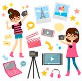 Видео- делать Стоковое Изображение RF