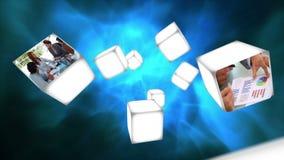 Видео дела на плавать кубов видеоматериал