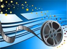 Видео- значок камеры /film на квадратной кнопке интернета Стоковые Изображения