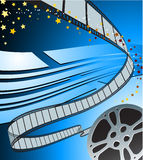 Видео- значок камеры /film на квадратной кнопке интернета Стоковое Изображение RF