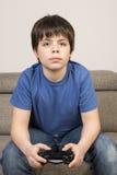 Видео- мальчик Gamer Стоковые Изображения RF