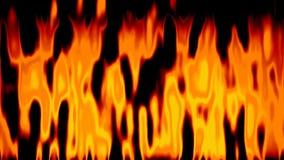 Видео петли абстрактной оживленной предпосылки огня безшовное иллюстрация вектора