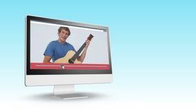 Видео подростков на компьютере акции видеоматериалы