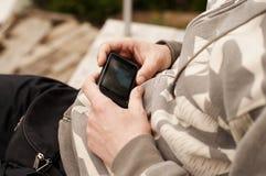 Видео человека наблюдая стоковая фотография rf