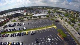 Видео 4k торгового центра воздушное