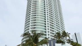 Видео Miami Beach 4k гостиницы Фонтенбло видеоматериал