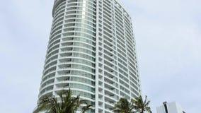 Видео Miami Beach 4k гостиницы Фонтенбло сток-видео
