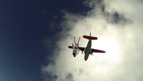 Видео Skydiving сток-видео