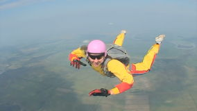 Видео Skydiving видеоматериал