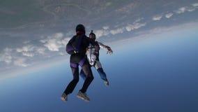 Видео Skydiving акции видеоматериалы