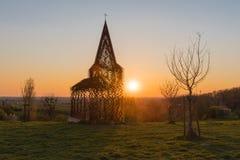 Видеть-через церковь Borgloon Стоковые Изображения RF