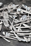 Вилка ножа ложки столового прибора Стоковая Фотография RF