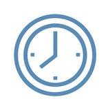 вилки конструкции часов кафа брошюры формируют ложки иконы рук Стоковое Фото