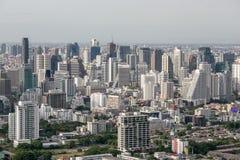 Вид на город Бангкока Стоковое Изображение RF