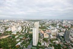 Вид на город Бангкока Стоковые Фото