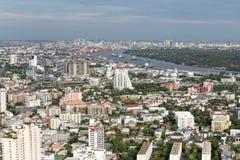 Вид на город Бангкока Стоковые Фотографии RF