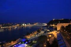 Вид на город Будапешта в Будапеште, Венгрии, 2015 Стоковое Фото