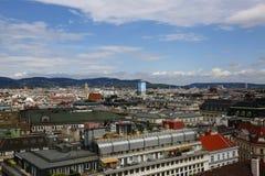 Вид на город вены в Австрии, 2015 Стоковое фото RF