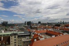 Вид на город вены в Австрии, 2015 Стоковые Изображения