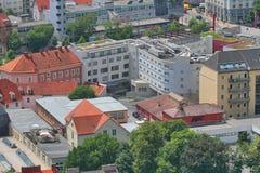 Вид на город, Грац Австрия Стоковая Фотография RF