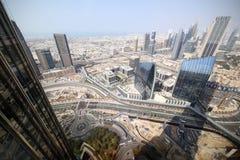 Вид на город Дубай городской красивый Стоковое фото RF