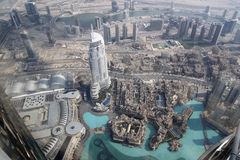 Вид на город Дубай городской красивый Стоковые Фото
