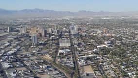 Вид на город Лас-Вегас Стоковые Изображения RF