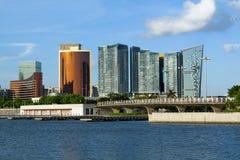 Вид на город Макао Стоковое фото RF