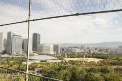 Вид на город Осака Стоковая Фотография RF