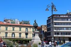Вид на город Пизы, Италии Стоковое Фото