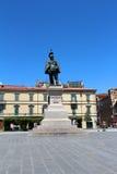 Вид на город Пизы, Италии Стоковое фото RF